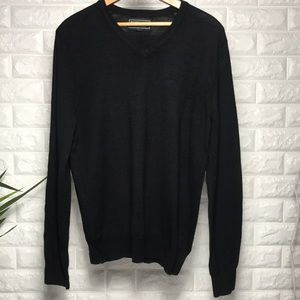 Express Italian merino wool v-neck sweater.